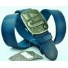 Мужской ремень джинсовый Exclusive ar40-011 синий