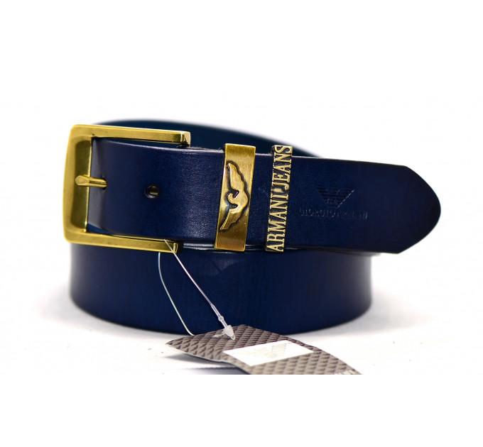 Мужской ремень джинсовый Exclusive ar40-020 синий