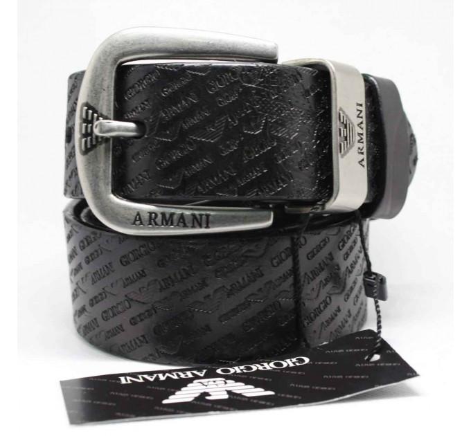 Мужской ремень джинсовый Exclusive ar40-034 черный