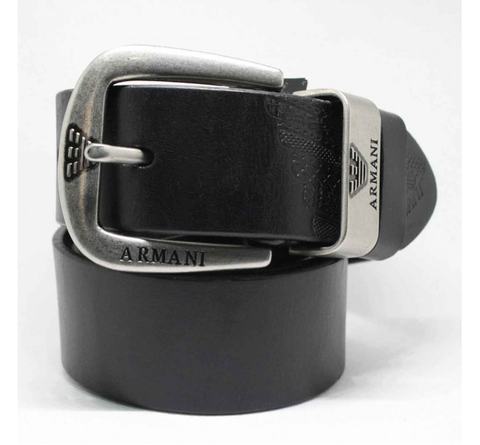 Мужской ремень джинсовый Exclusive ar40-035 черный