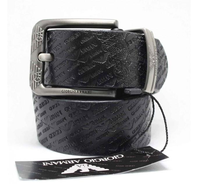 Мужской ремень джинсовый Exclusive ar40-036 черный