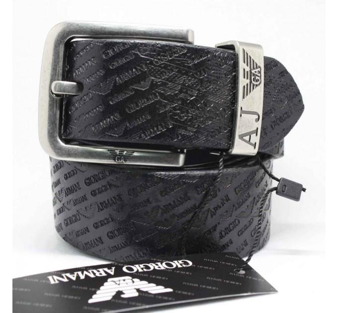 Мужской ремень джинсовый Exclusive ar40-040 черный
