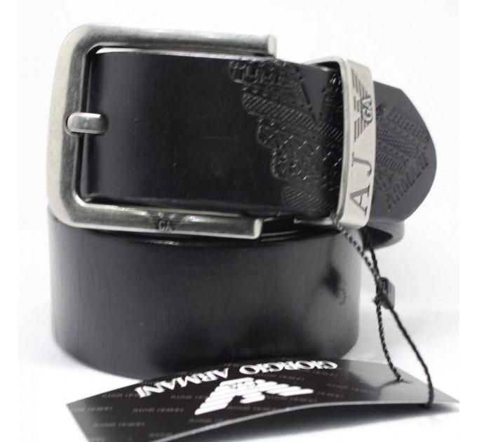 Мужской ремень джинсовый Exclusive ar40-041 черный