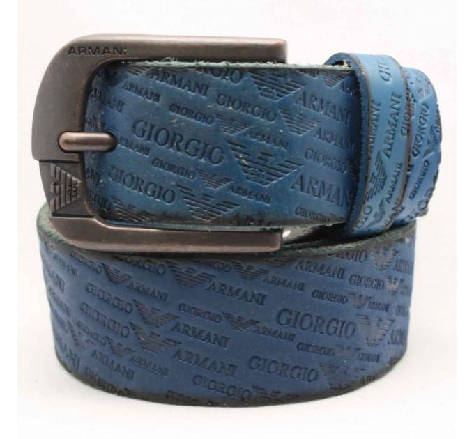 Мужской ремень джинсовый Exclusive ar40-043 синий