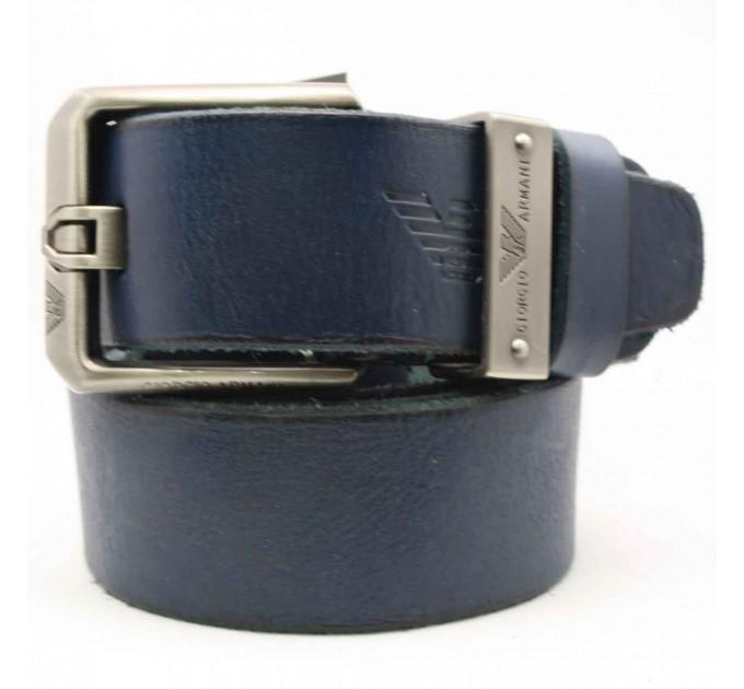 Мужской ремень джинсовый Exclusive ar40-044 синий