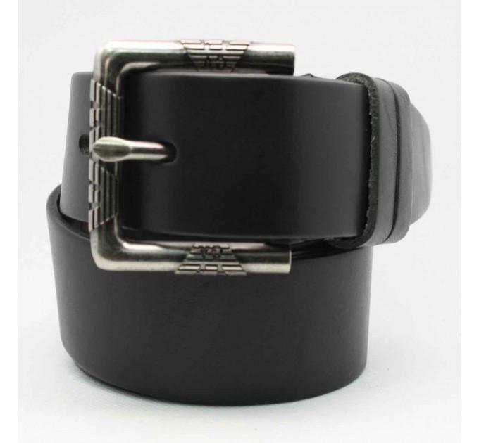 Мужской ремень джинсовый Exclusive ar40-046 черный