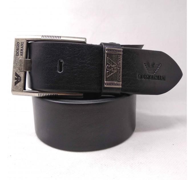Мужской ремень джинсовый Exclusive ar40-047 черный