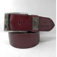 Мужской ремень джинсовый Exclusive ar40-049 коричневый