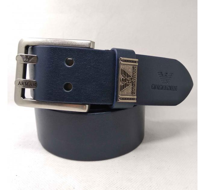 Мужской ремень джинсовый Exclusive ar40-051 синий