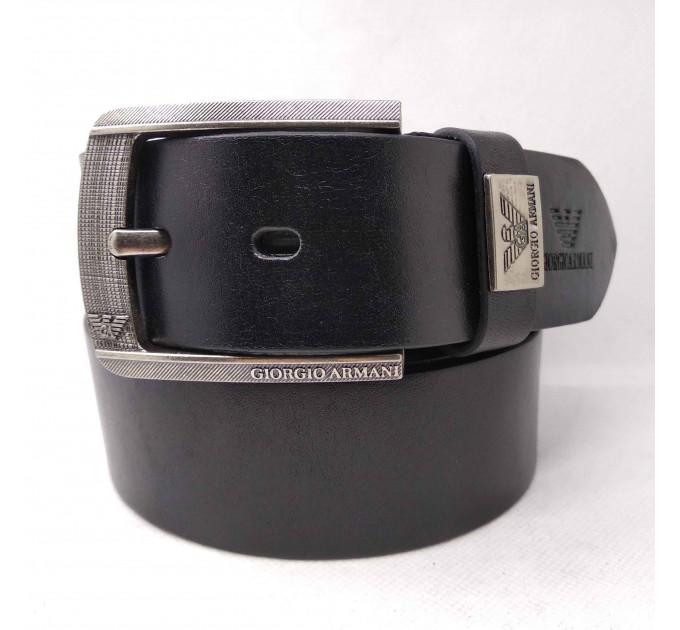 Мужской ремень джинсовый Exclusive ar40-053 черный