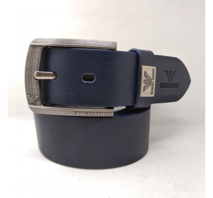 Мужской ремень джинсовый Exclusive ar40-054 синий