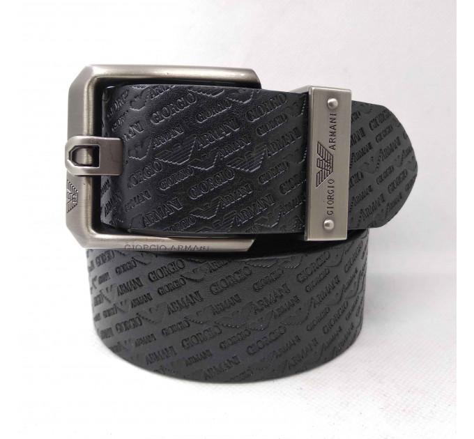Мужской ремень джинсовый Exclusive ar40-056 черный
