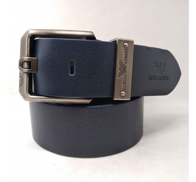 Мужской ремень джинсовый Exclusive ar40-057 синий