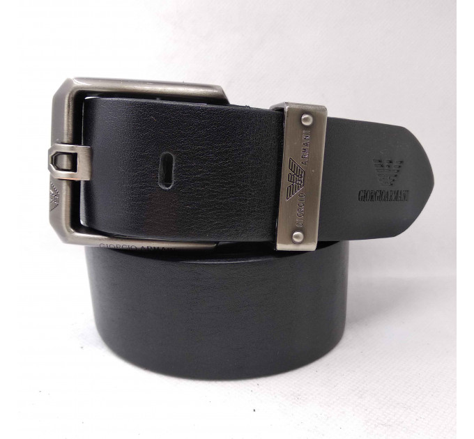 Мужской ремень джинсовый Exclusive ar40-058 черный
