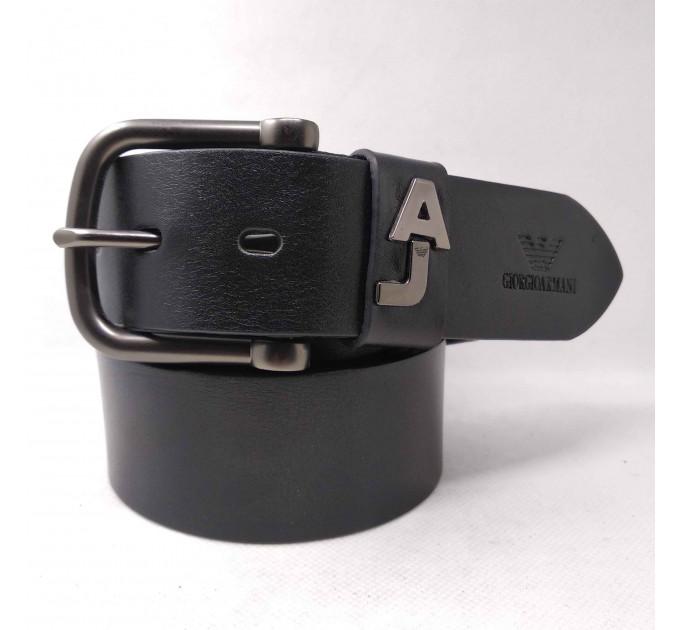 Мужской ремень джинсовый Exclusive ar40-060 черный