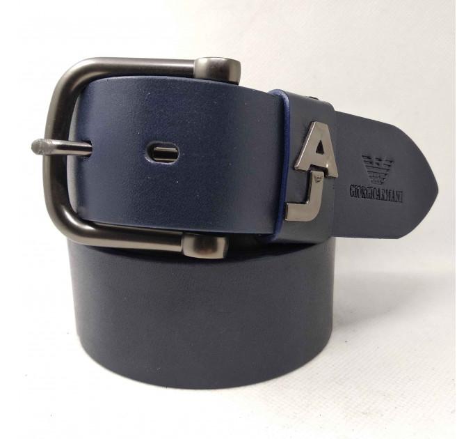 Мужской ремень джинсовый Exclusive ar40-061 синий