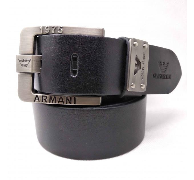 Мужской ремень джинсовый Exclusive ar40-066 черный