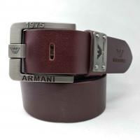 Мужской ремень джинсовый Exclusive ar40-068 коричневый