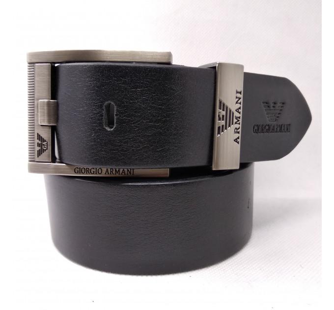 Мужской ремень джинсовый Exclusive ar40-071 черный