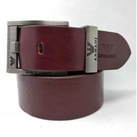 Мужской ремень джинсовый Exclusive ar40-072 коричневый