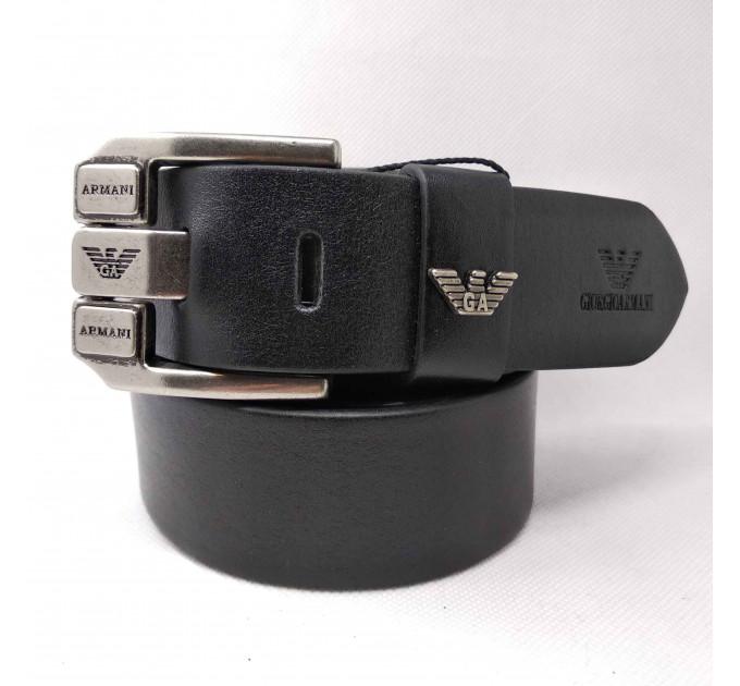 Мужской ремень джинсовый Exclusive ar40-073 черный