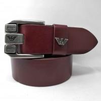 Мужской ремень джинсовый Exclusive ar40-075 коричневый
