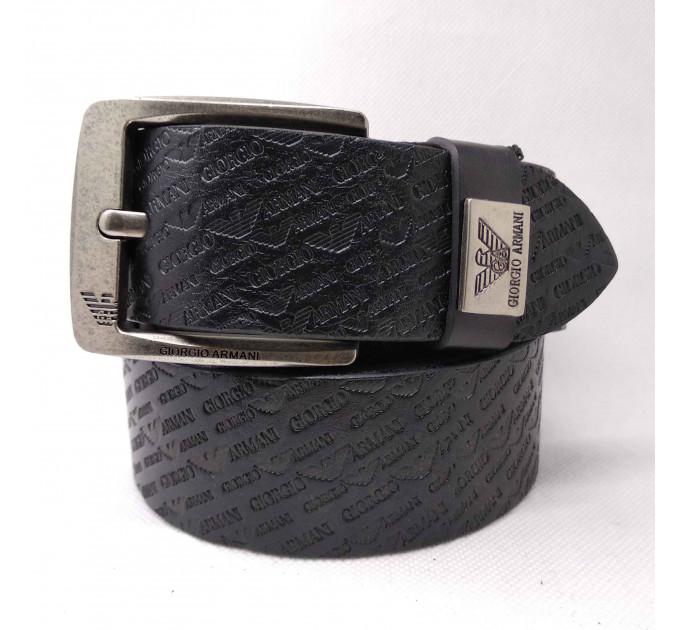 Мужской ремень джинсовый Exclusive ar40-077 черный