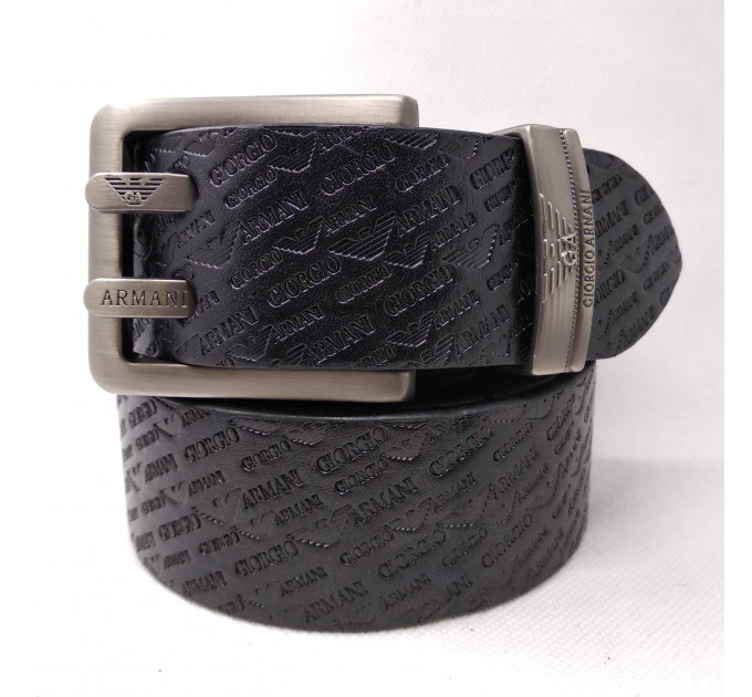 Мужской ремень джинсовый Exclusive ar40-079 черный