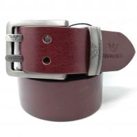 Мужской ремень джинсовый Exclusive ar40-080 коричневый