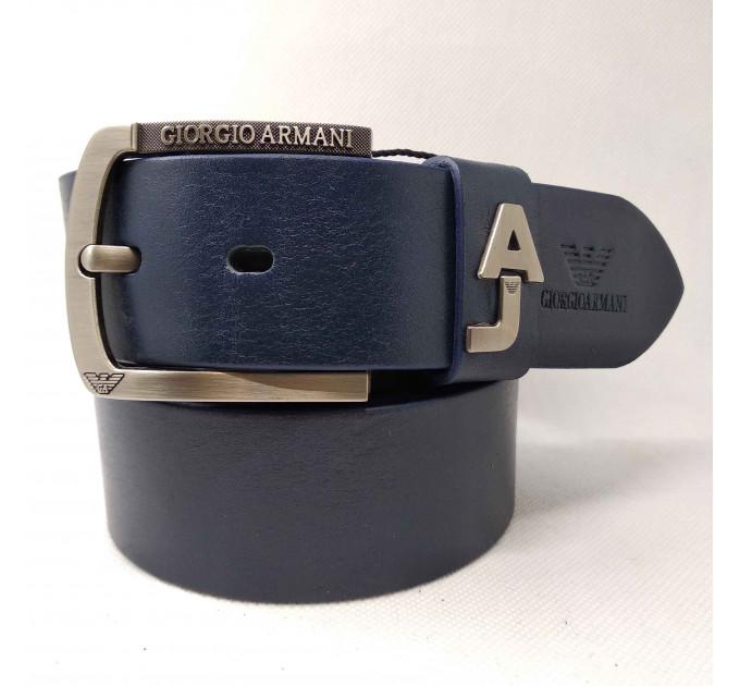 Мужской ремень джинсовый Exclusive ar40-081 синий