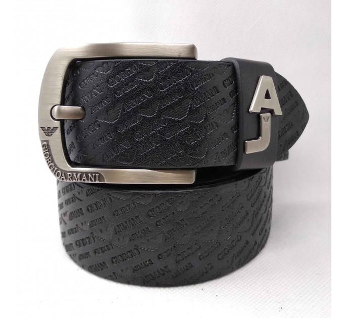 Мужской ремень джинсовый Exclusive ar40-082 черный
