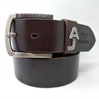 Мужской ремень джинсовый Exclusive ar40-083 коричневый