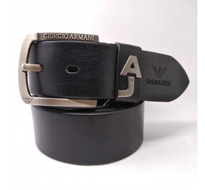 Мужской ремень джинсовый Exclusive ar40-084 черный