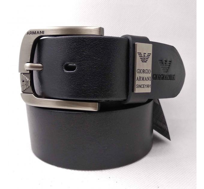 Мужской ремень джинсовый Exclusive ar40-085 черный