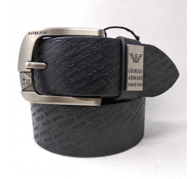 Мужской ремень джинсовый Exclusive ar40-087 черный