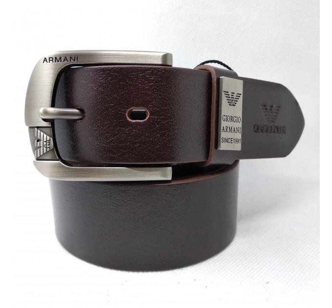 Мужской ремень джинсовый Exclusive ar40-088 черный
