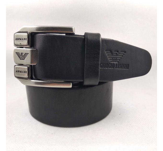 Мужской ремень джинсовый Exclusive ar40-091 черный
