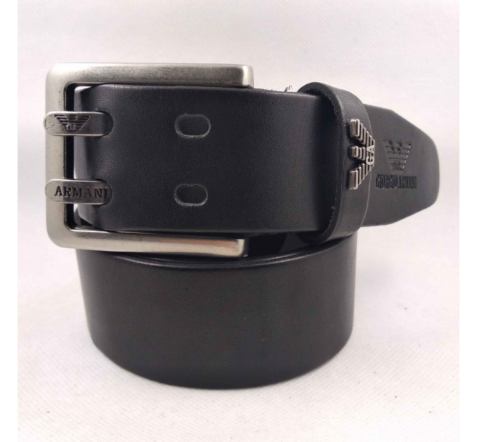 Мужской ремень джинсовый Exclusive ar40-092 черный