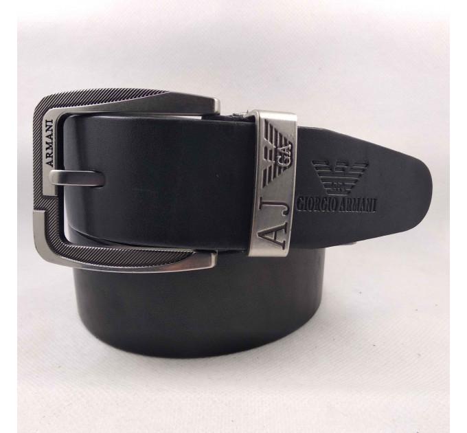Мужской ремень джинсовый Exclusive ar40-093 черный