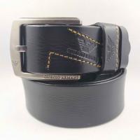 Мужской ремень джинсовый Exclusive ar40-097 черный