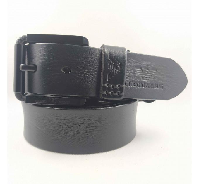 Мужской ремень джинсовый Exclusive ar40-099 черный