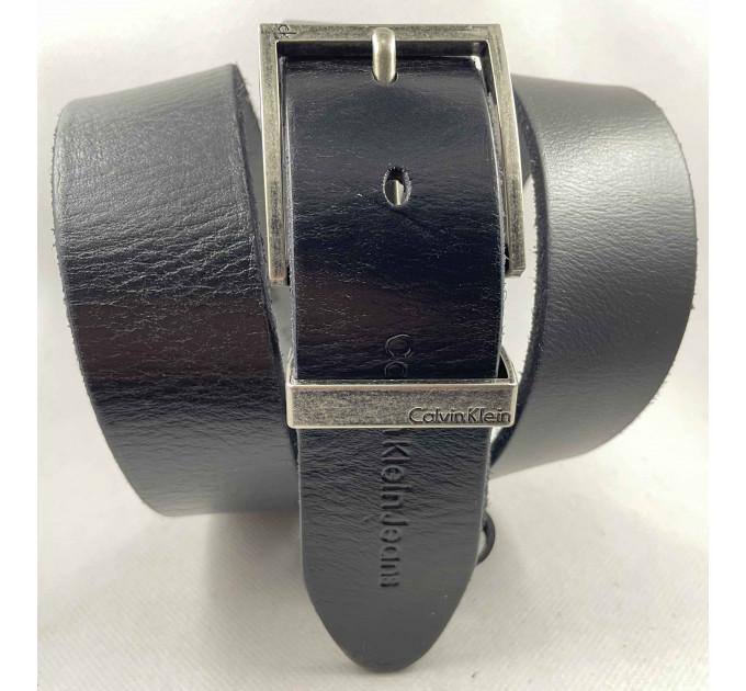 Мужской ремень джинсовый Exclusive ck40-087 черный
