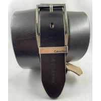 Мужской ремень джинсовый Exclusive ck40-089 темно-коричневый