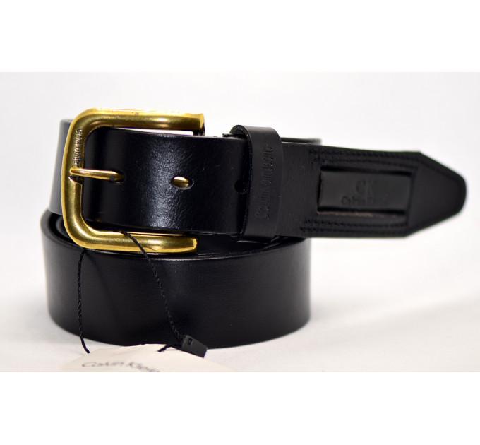 Мужской ремень джинсовый Exclusive ck40-010 черный