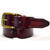 Мужской ремень джинсовый Exclusive ck40-011 коричневый