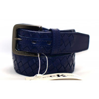 Мужской ремень джинсовый Exclusive ck40-046 синий