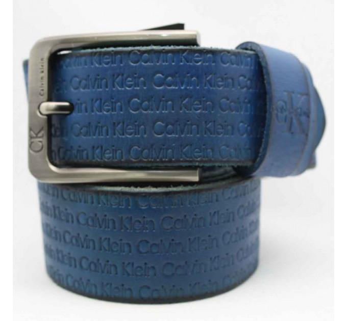 Мужской ремень джинсовый Exclusive ck40-052 синий