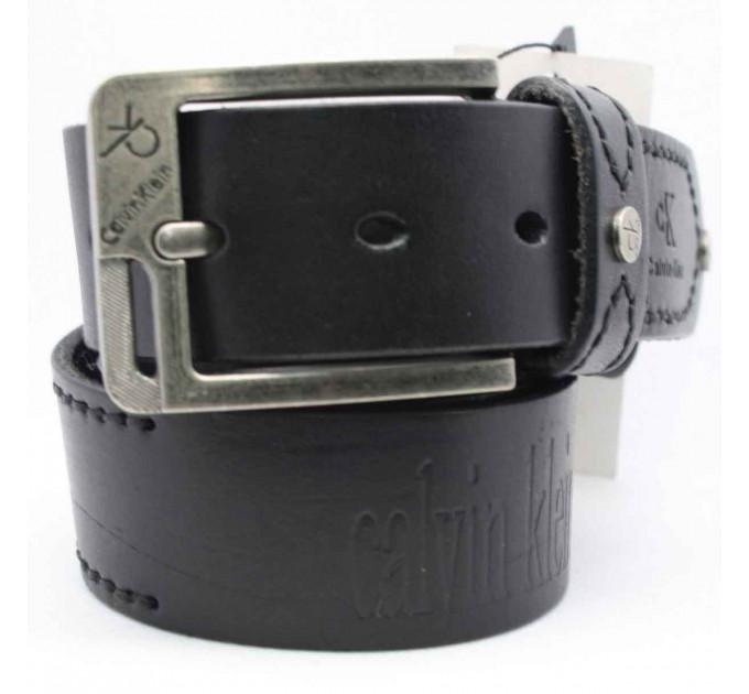 Мужской ремень джинсовый Exclusive ck40-053 черный