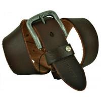 Мужской ремень джинсовый Exclusive ck40-058 коричневый