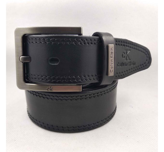 Мужской ремень джинсовый Exclusive ck40-064 черный